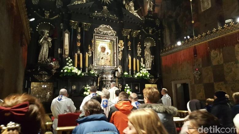 Foto: Biara pengabul doa dari Polandia (Odilia/detikTravel)