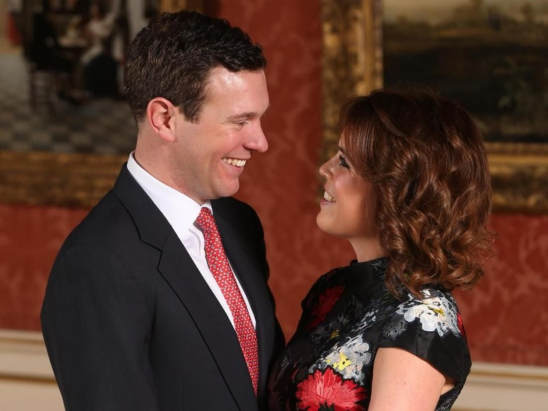 Foto: Putri Eugenie dan Jack Brooksbank (Jonathan Brady - WPA Pool/Getty Images)
