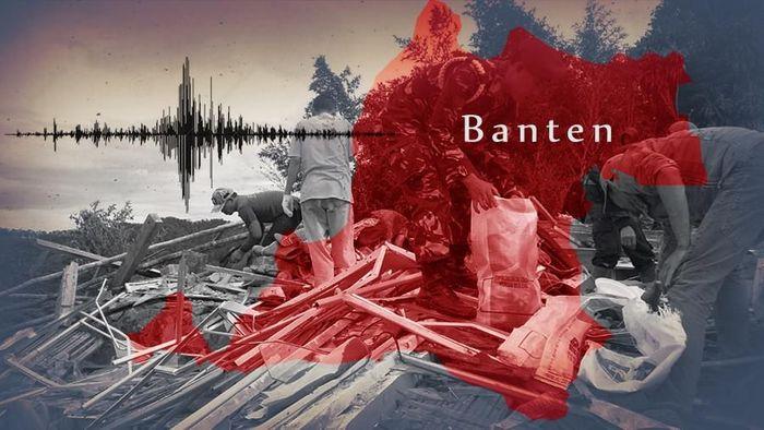 Foto: Ilustrasi gempa Banten (Ilustrator: Luthfy Syahban/detikcom)