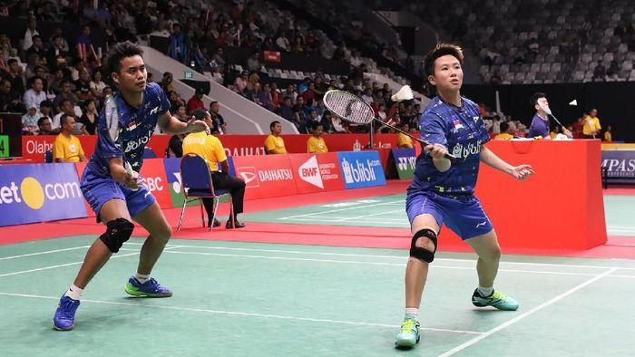 Tontowi Ahmad/Liliyana Natsir lolos ke babak kedua Indonesia Masters 2018 (Foto: dok. Humas PBSI)
