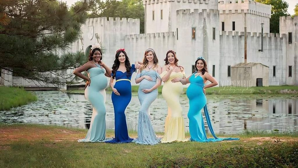 Foto: Seperti Ini Jadinya Kalau Para Disney Princess Hamil Besar