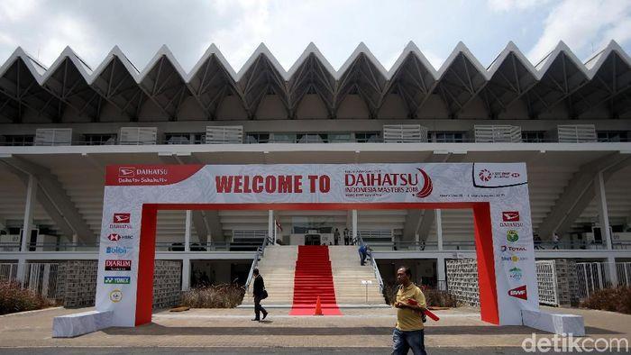 Istora Senayan tempat dihelatnya Indonesia Masters 2018 (Foto: Agung Pambudhy)