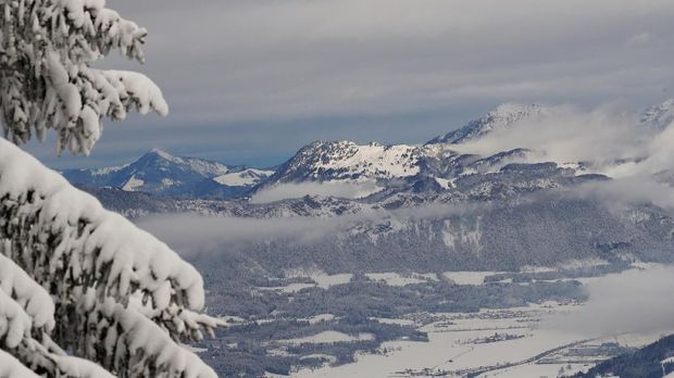 Salju Alpen Terdera Pemanasan Global