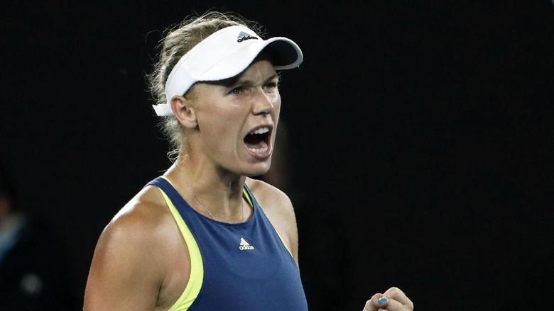 Wozniacki Melaju ke Semifinal Usai Bertarung Tiga Set
