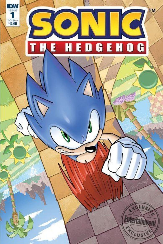 Komik Sonic the Hedgehog Terbit April
