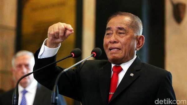Bantah Prabowo, Menhan: Sampai Sejuta Tahun Lagi RI Masih Ada!