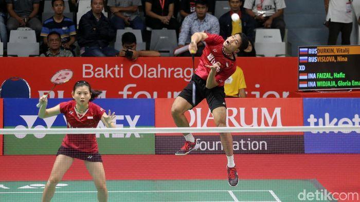 Ricky/Debby Taklukkan Pasangan Hong Kong di babak kedua Indonesia Masters (Agung Pambudhy/detikSport)