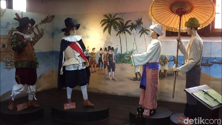 Beberapa diorama koleksi Museum Bahari (Iswahyudi/detikTravel)