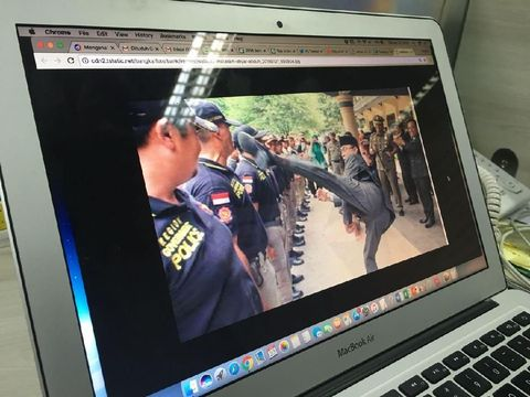 Viral Wali Kota Mataram Tendangi Satpol PP, Ini Cerita di Baliknya