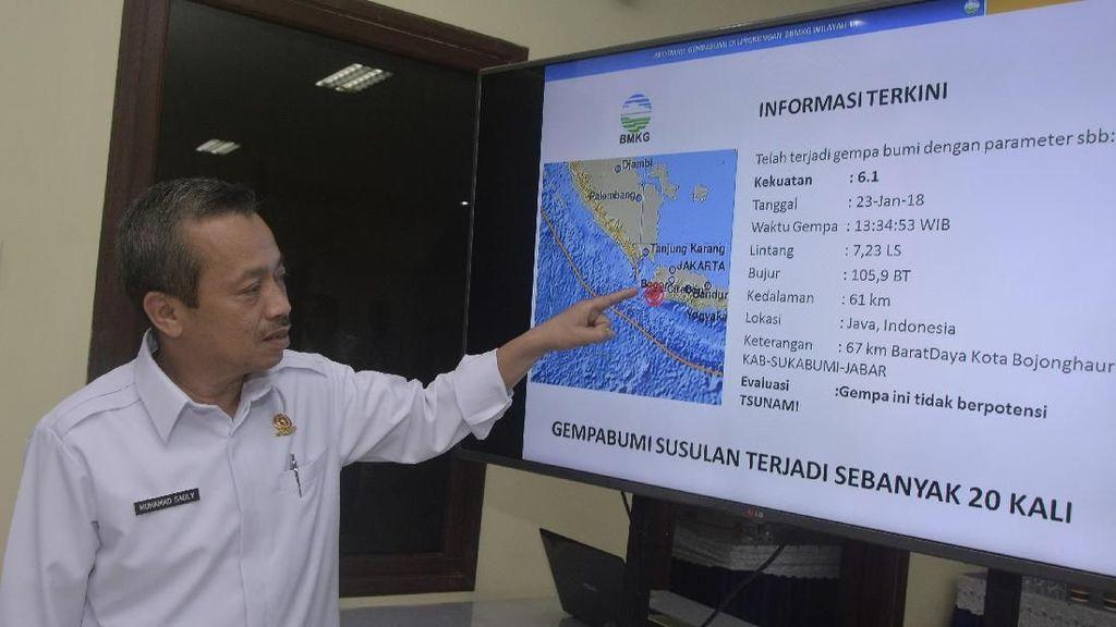 BMKG: Listrik Padam Massal Bukan Akibat Gempa Banten M 6,9