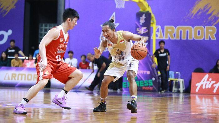 Pebasket CLS Knights Indonesia, Arif Hidayat,berpotensi masuk Timnas Basket (dok.CLS Knights Indonesia)