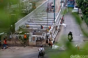 Progres Pembangunan Underpass Matraman