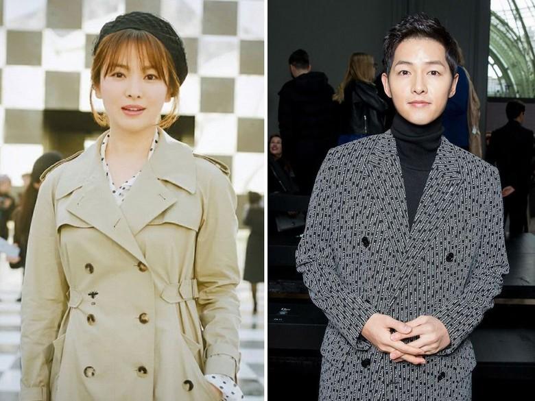 Song Joong Ki dan Song Hye Kyo. Foto: dok. Instagram, Koogle TV