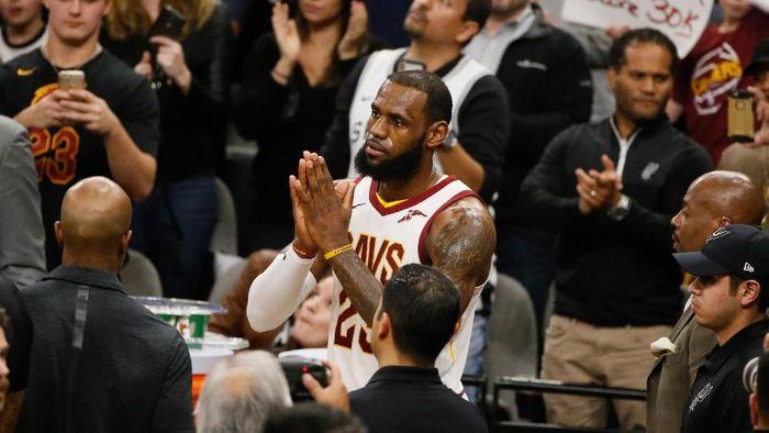 LeBron James sudah punya 30 ribu poin di NBA (Soobum Im-USA TODAY Sports)
