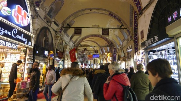 Foto: Grand Bazaar Istanbul (Kurnia Yustiana/detikTravel)