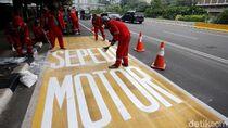 Dishub Gandeng Polda Sosialisasi Jalur Motor di Thamrin