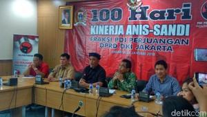 100 Hari Anies-Sandi, Ketua DPRD DKI dan PDIP Soroti 10 Kebijakan