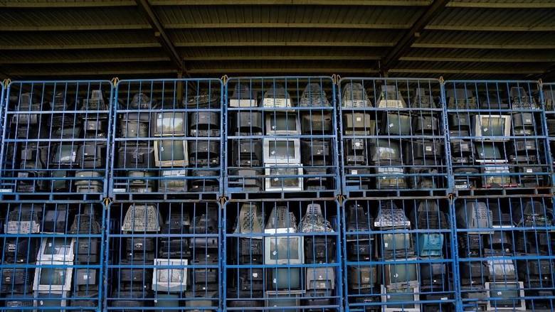 Foto: Melihat Lokasi Pembuangan Sampah Elektronik Terbesar di Dunia