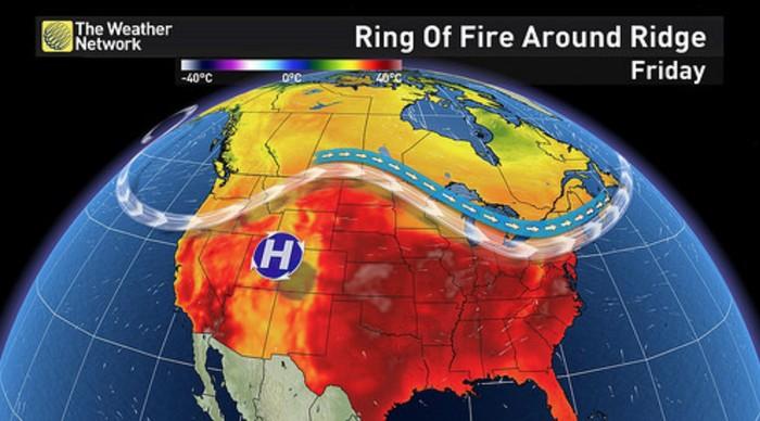 cincin api pasifik / ring of fire