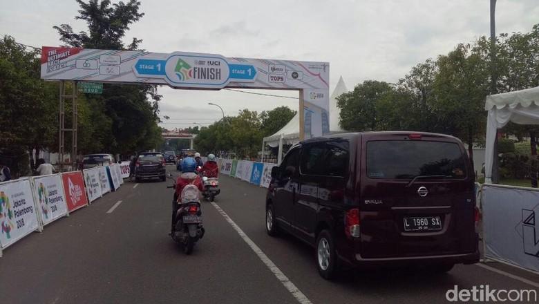 Ini Jalur Alternatif Lalin di Ngawi Saat Tour De Indonesia 2018