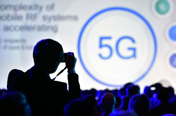 Ilustrasi 5G. Foto: Getty Images