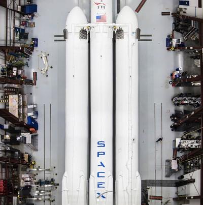 Roket SpaceX. Foto: Dok. Instagram Elon Musk