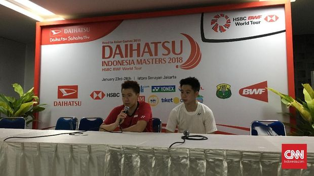 Marcus Fernaldi Gideon dan Kevin Sanjaya menanti perlawanan sengit Rian/Hendra di Indonesia Masters 2018.