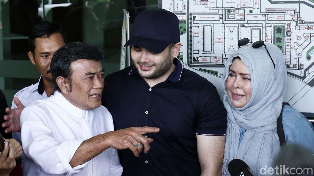 Siap Hadapi, Keluarga Dukung Ridho Rhoma Ajukan PK