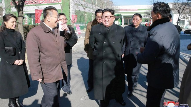Foto: Dok. KCNA via Reuters
