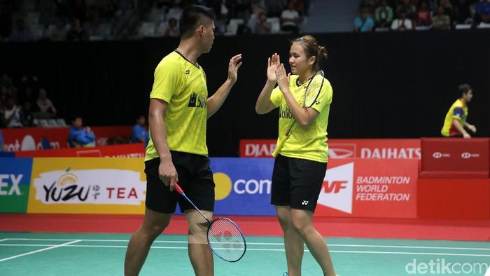 Praveen Jordan/Melati Daeva maju ke perempatfinal Australia Terbuka 2019. (Dok. Foto: Agung Pambudhy)