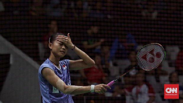 Fitriani tersingkir di putaran pertama Indonesia Open 2018.