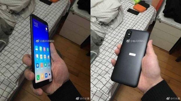 Penampakan Xiaomi Mi 6X yang Mirip iPhone X