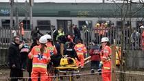 Kereta di Pinggiran Milan Tergelincir, 2 Orang Tewas
