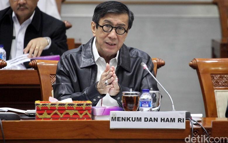 Siasat Yasonna Menangi Pileg Meski Jabat Menteri Hukum dan HAM