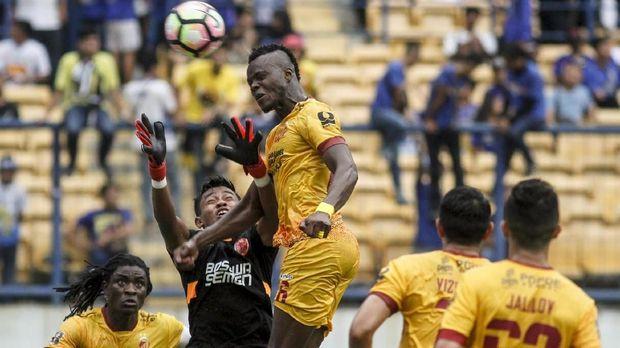 Sriwijaya FC bertekad meraih kemenangan di kandang Bali United dalam leg kedua semifinal Piala Presiden 2018.
