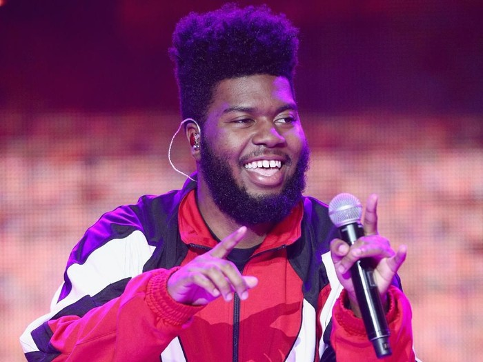 LOS ANGELES, CA - DECEMBER 31:  Khalid performs onstage during Dick Clarks New Years Rockin Eve with Ryan Seacrest 2018 on December 31, 2017 in Los Angeles, California.  (Photo by Frederick M. Brown/Getty Images for dcp)