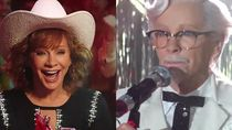 Reba McEntire, Wanita Pertama yang Perankan Colonel Sanders dalam Iklan KFC Terbaru