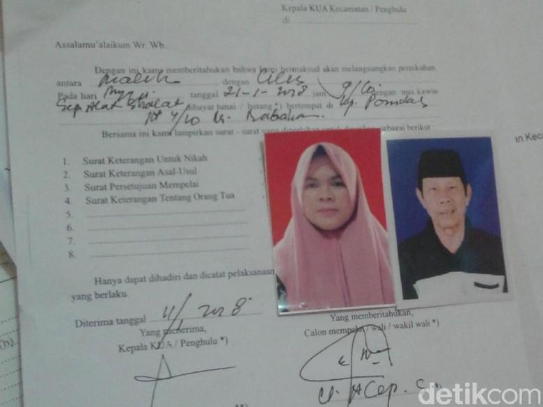 Terungkap! Ini Nama Istri Baru Malih Tong Tong