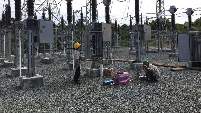 Foto: Jaringan listrik 150 kilo Volt (kV) Siantan-Tayan dan Gardu Induk (GI) 150 kV Tayan di Sanggau, Kalbar (Dok. PLN)