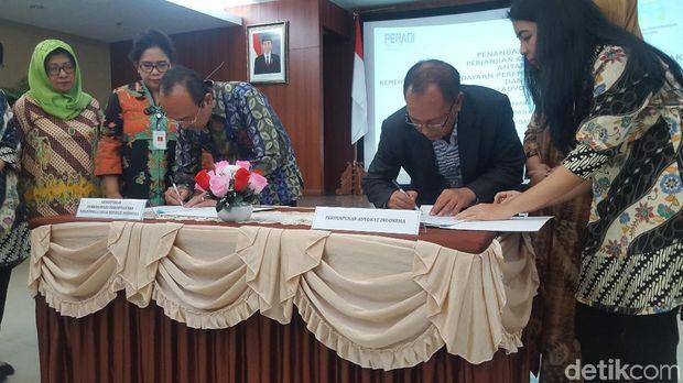 Cegah Kasus Diskriminasi, Kementerian PPPA dan Peradi Teken MoU