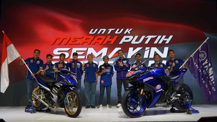 Yamaha Racing Indonesia yang turun di musim 2018 (dok.Yamaha Racing Indonesia)
