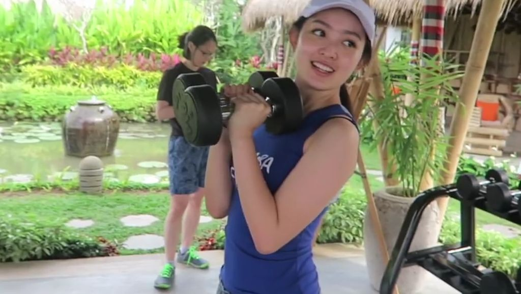Potret Cantiknya Natasha Wilona Saat Lagi Olahraga