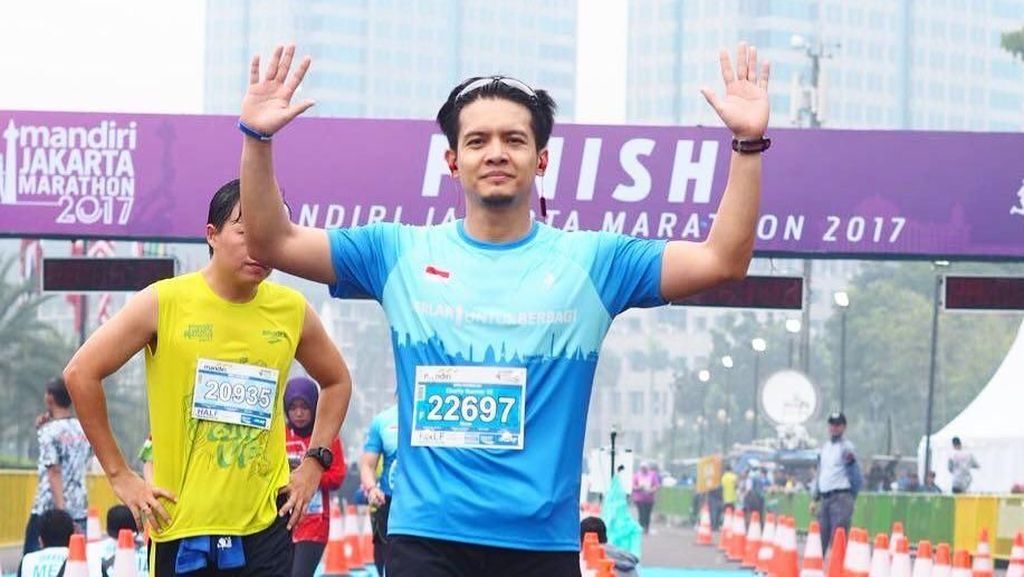Selain Rajin Ngaji, Aktor Ganteng Dimas Seto Juga Rajin Berolahraga
