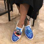 Tengok Sepatu Baru Susi, Bergambar Fotonya yang Viral di Medsos