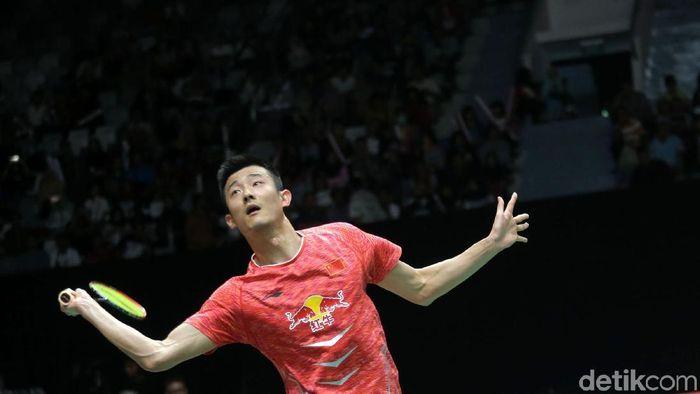 Tunggal putra terbaik China, Chen Long (Agung Pambudhy/detikSport)