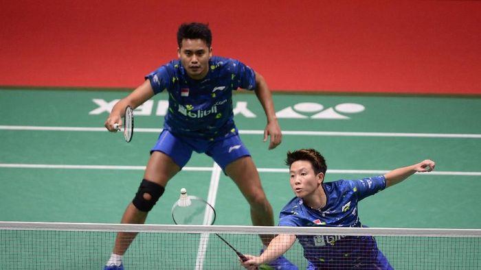 Tontowi Ahmad/Liliyana Natsir di Indonesia Masters 2018 (Foto: Akbar Nugroho Gumay/ANTARA FOTO)