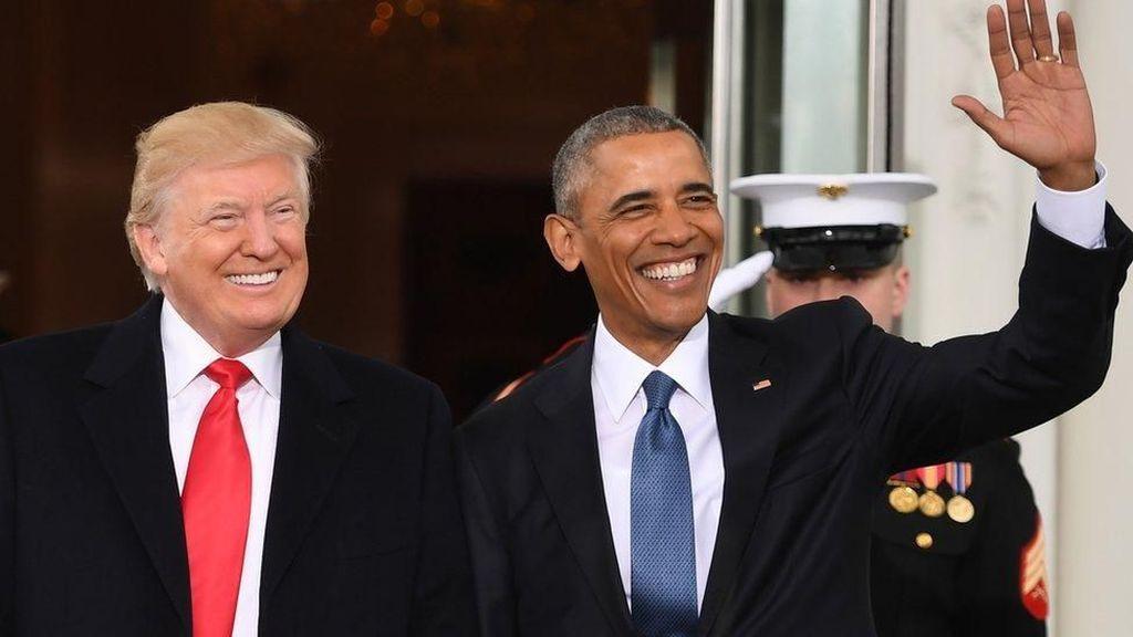 Babak Baru Trump Vs Obama dalam Polemik Corona