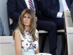 Jadi Ibu Negara AS, Melania Trump Diboikot Majalah Fashion?