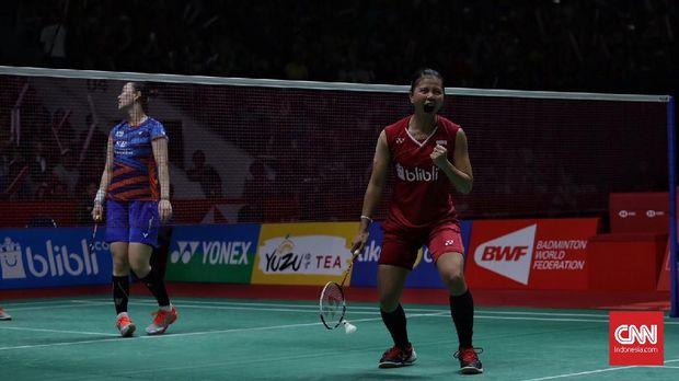 Greysia Polii membuktikan kariernya belum berakhir usai Olimpiade 2012.