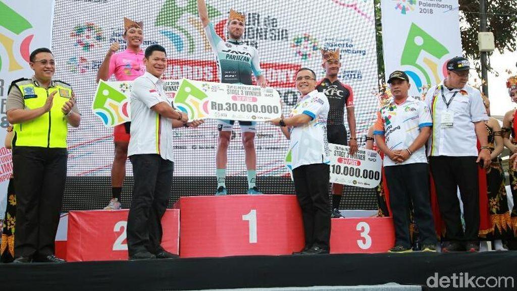 Bupati Banyuwangi Sambut Peserta Tour de Indonesia Etape Ketiga